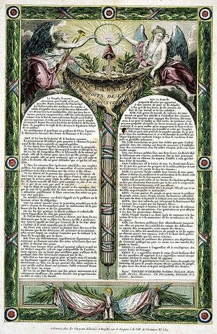A 1ª Constituição francesa e a Declaração dos Direitos do Homem e do Cidadão