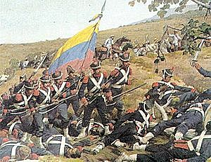 Bolivar and His Soldiers Begin Venezuela's Fight for Independence