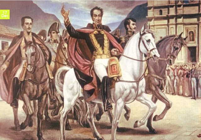 Bolivar's Gran Columbia Gains Its Independence