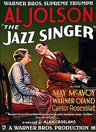 The Jazz Singer debuts (1st movie with sound)