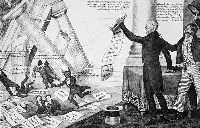 Andrew Jackson vetoes the Maysville Road Bill.