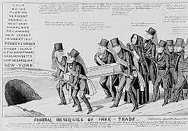 South Carolina issues ordinance of nullification.
