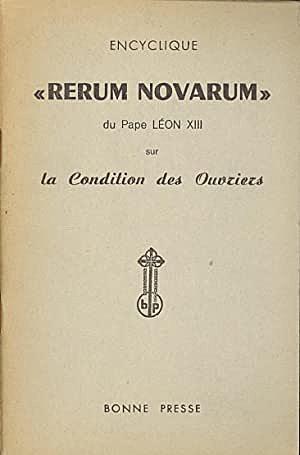 Il Rerum Novarum