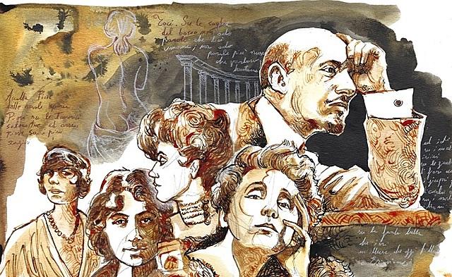 Gabriele D'Annunzio come modello di vita