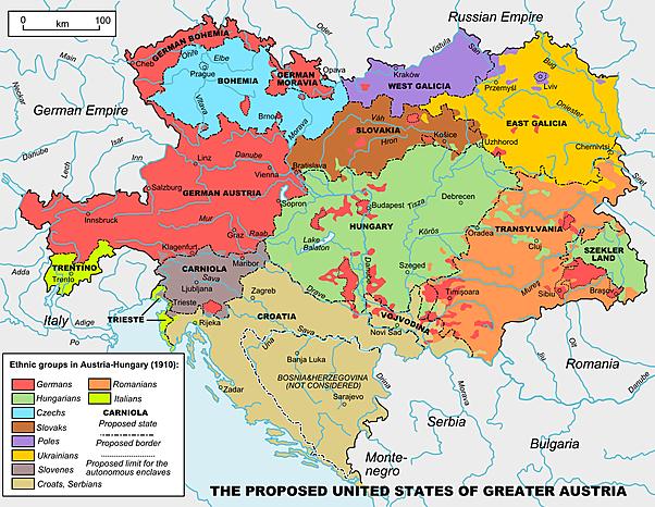 Il controllo dell'Austria sulla Bosnia-Erzegovina
