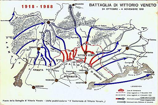 La conclusione del conflitto in Italia
