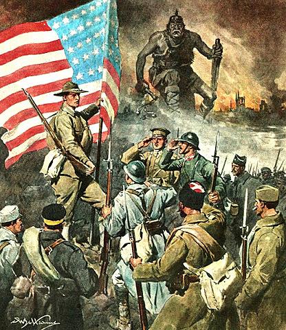 Il vero vincitore della prima guerra mondiale: gli Stati Uniti