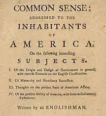 Common sense ~ Thomas Paine