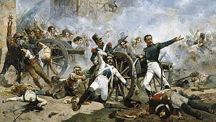 Sublevación del 2 de mayo e inicio de la guerra de la Independencia.