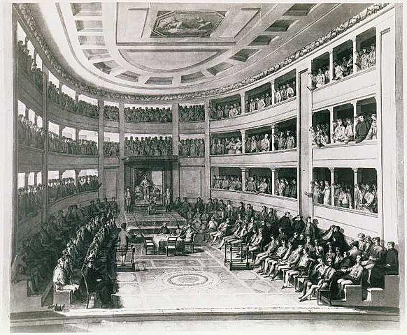 Inicio de las Cortes de Cádiz