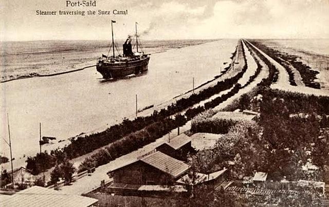 Costruzione Canale di Suez