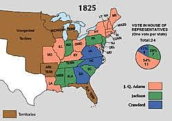 Corrupt Bargain Henry Clay became sec. of state & JQA President