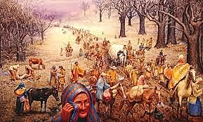 Indian removal Act ~ trail of tears