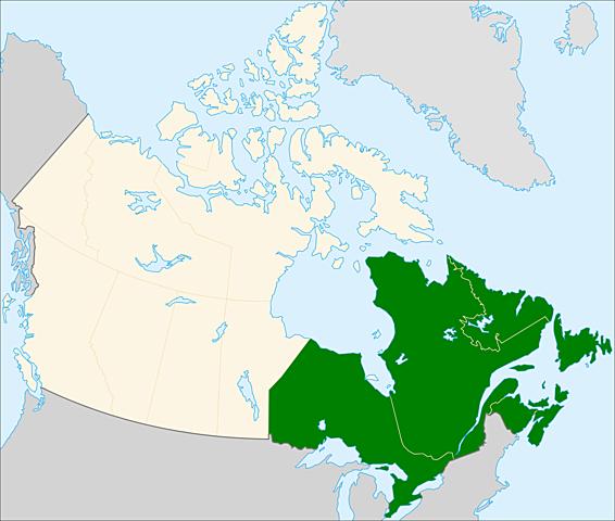 Northeast Canada