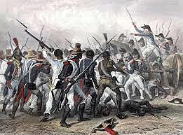 A revolt that the African In Haiti won