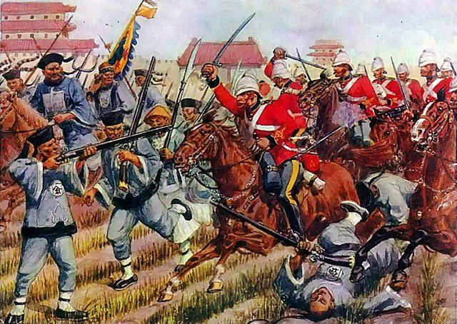 La Prima Guerra dell'Oppio