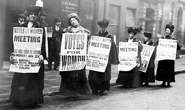 Suffragette e Femministe