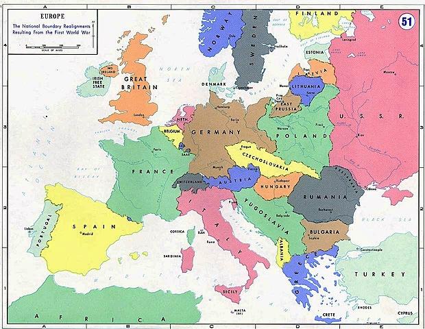 Spartizione territori Versailles