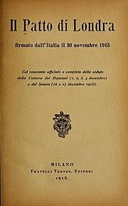 Scoppia la prima guerra mondiale. L'Italia interviene.