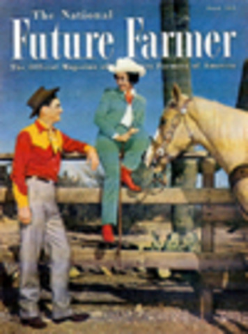 1952 First National Future Farmer Magazine published