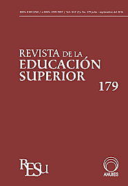"""Documento denominado """"Aportaciones de la ANUIES al Plan Nacional de Educación"""""""