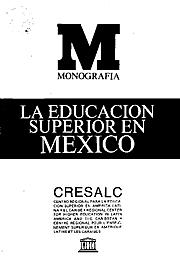 Plan Nacional de Educación Superior. Lineamientos generales.