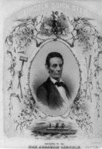 The election of Abraham Lincoln