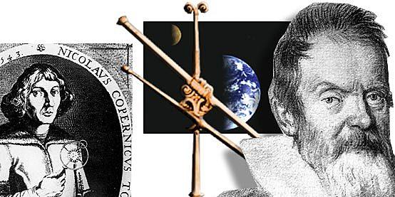Los avances de Copérnico y Galileo Galilei.