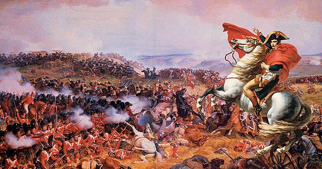Derrota de Napoleón e restauración do absolutismo