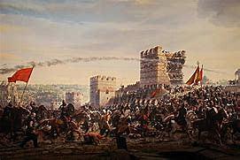 Constantinopla por los turcos en 1453 d c