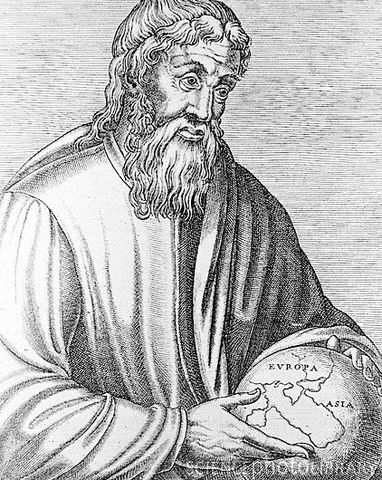 Strabo's Geographica first appeared in Rome
