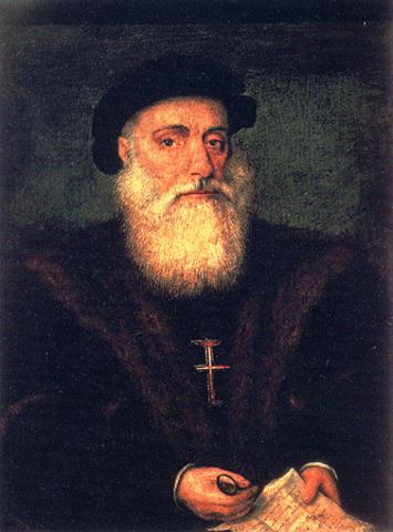 Vasco da Gama rounded Africa's Cape of Good Hope