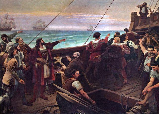 The Portuguese reached Brazil