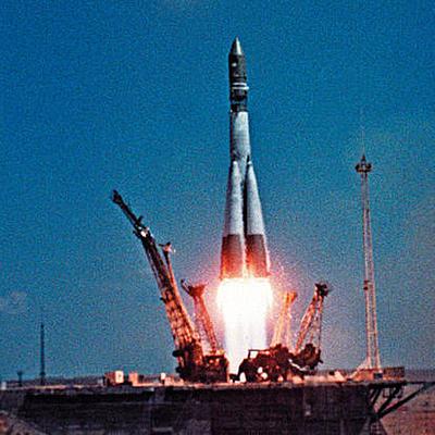 История первого полёта в космос timeline
