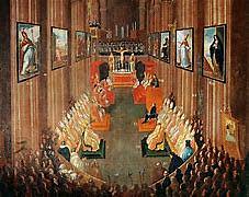 El Concilio de Trento.