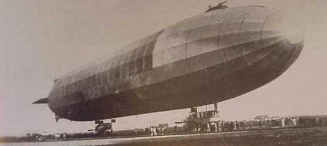 First Zeppelin Delivered To German Army
