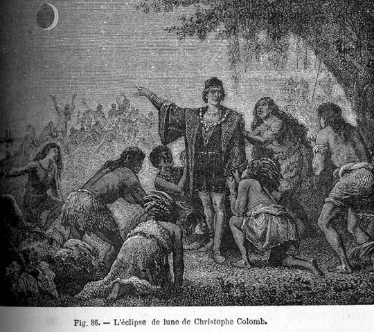 The Lunar Eclipse that Saved Christopher Columbus