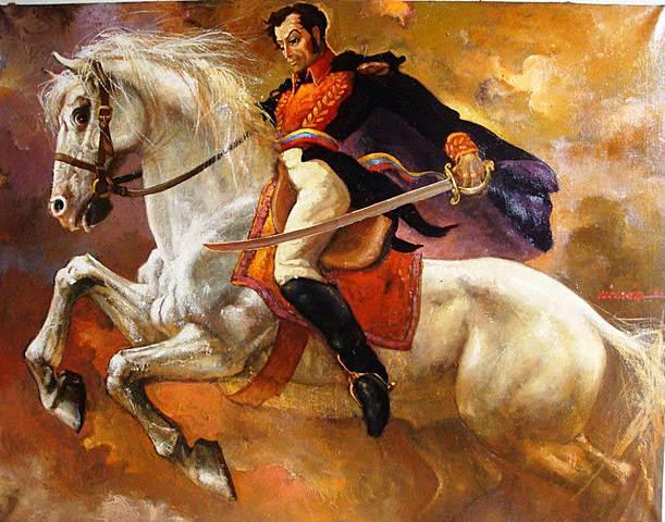 Simón Bolívar Begins Venezuelan Independence Movement