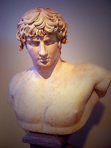 ROMA. Busto de Antínoo