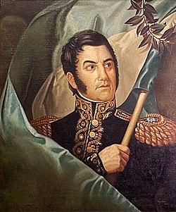 José de San Martín Frees Peru and Southern America