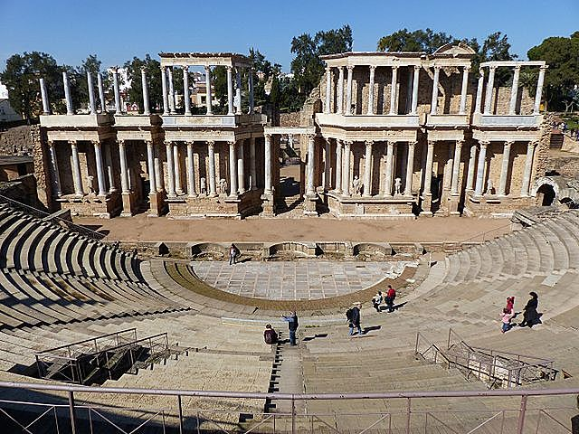 ROMA. Teatro romano de Mérida