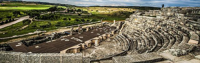 ROMA. Teatro de Segóbriga