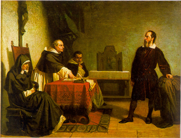 Galileo is sentenced to prison