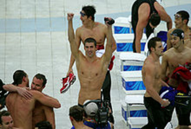 Michael Phelps won a record 8 gold medals in the 2008 Olympics