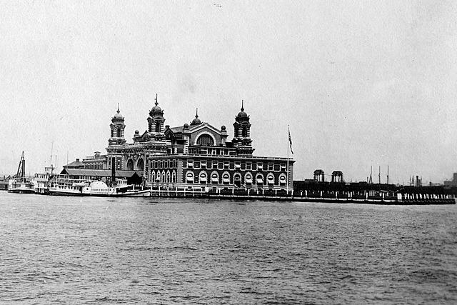 The Opening of Ellis Island