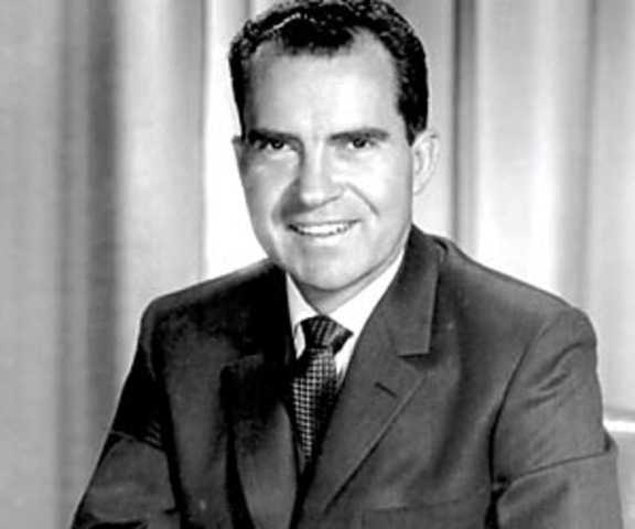 President Nixon Speaks at National Convention