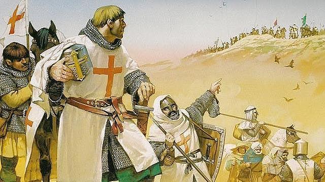 Las cruzadas y el orden militar,
