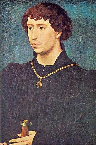 """Carlos I de Borgoña """"El Temerario"""". (1433-1477)."""