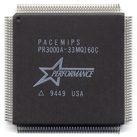 Процессоры нового поколения. Процессор R3000