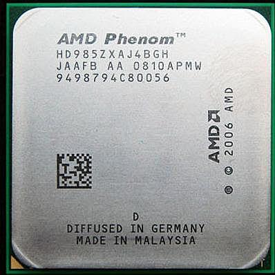 Процессоры AMD K10